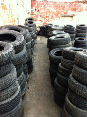 4x4 Breakers, used 4x4 Spares, including tyres from MJM.